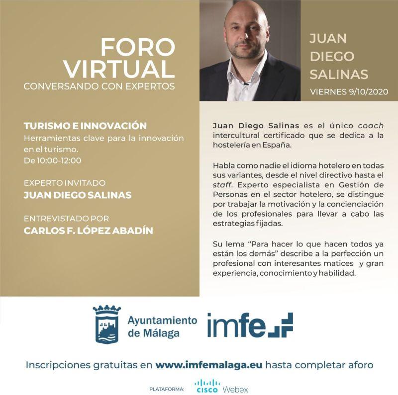 Charla Innovación y Turismo Juan Diego Salinas Metahotel